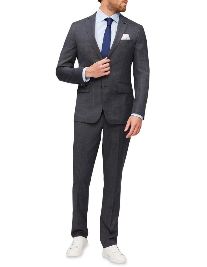 Tailored Window Pane Suit Jacket image 2