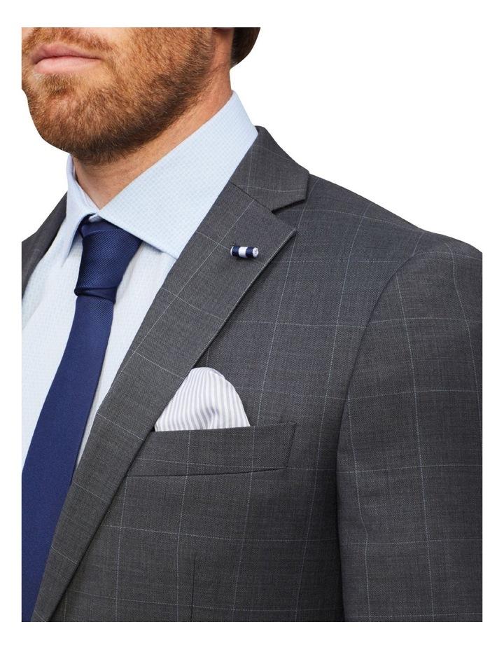 Tailored Window Pane Suit Jacket image 4