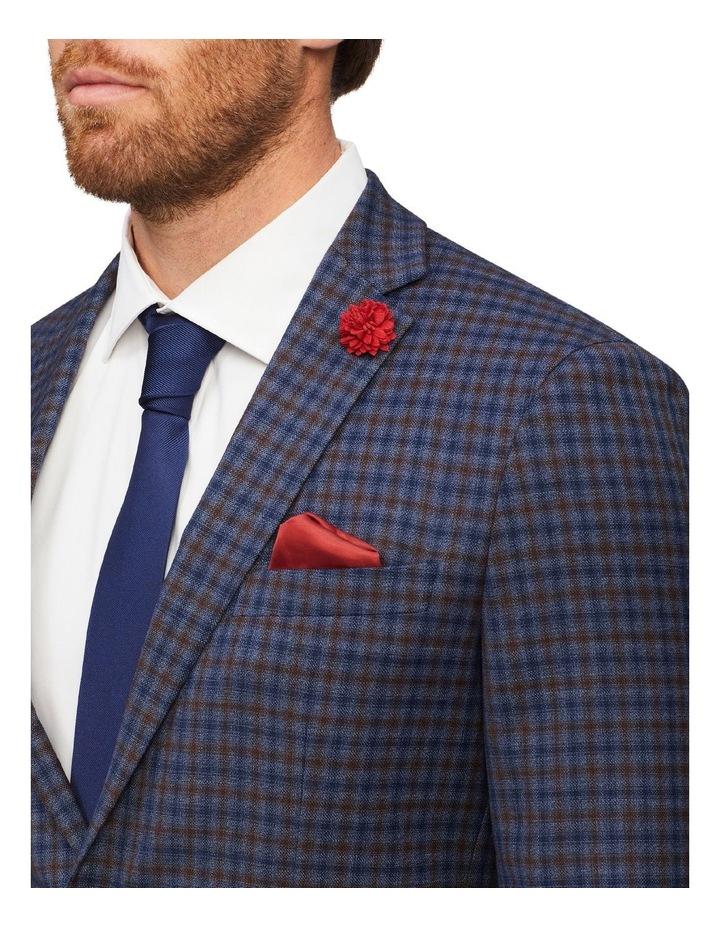 Gingham Check Slim Suit Jacket image 2