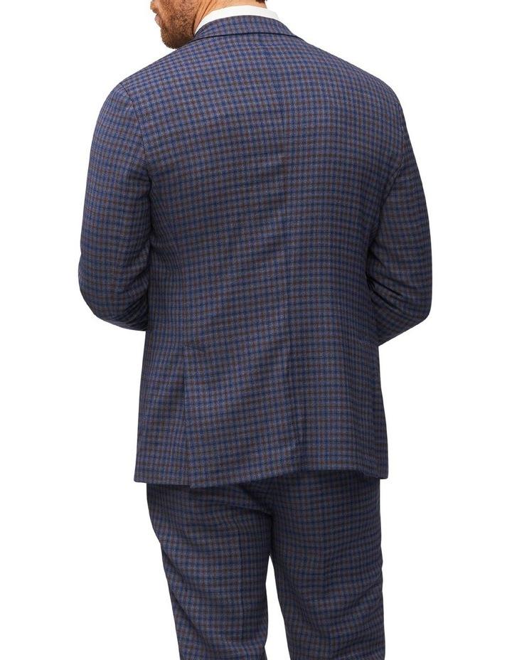 Gingham Check Slim Suit Jacket image 3