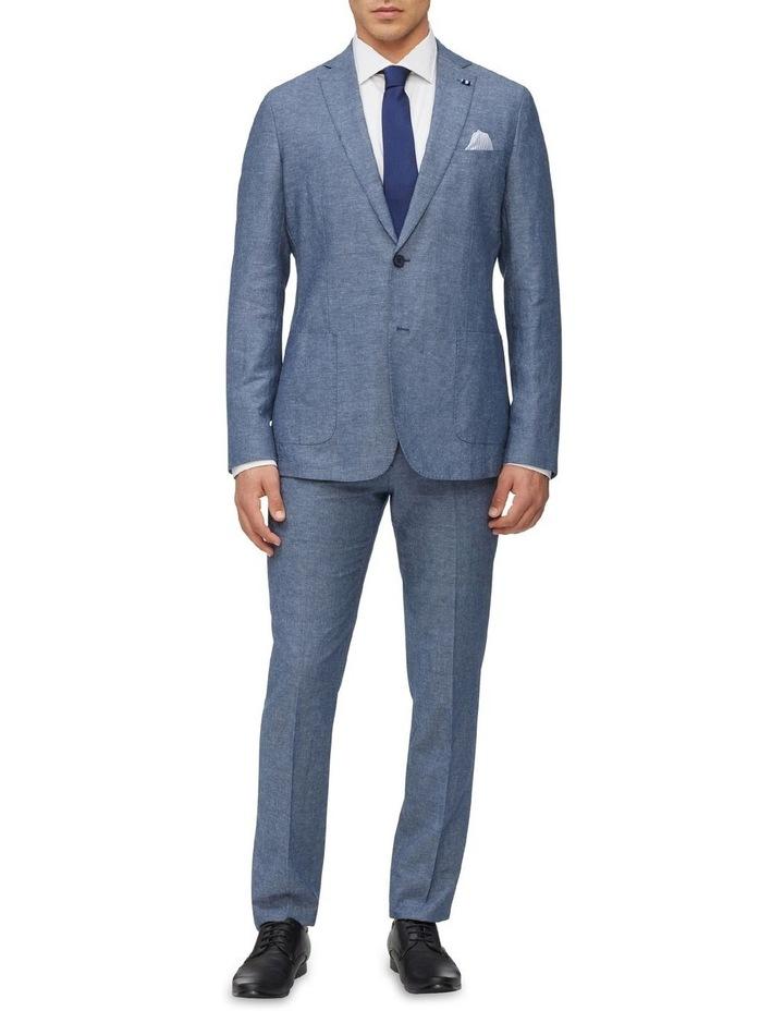 Linen Blend Slim Jacket image 2