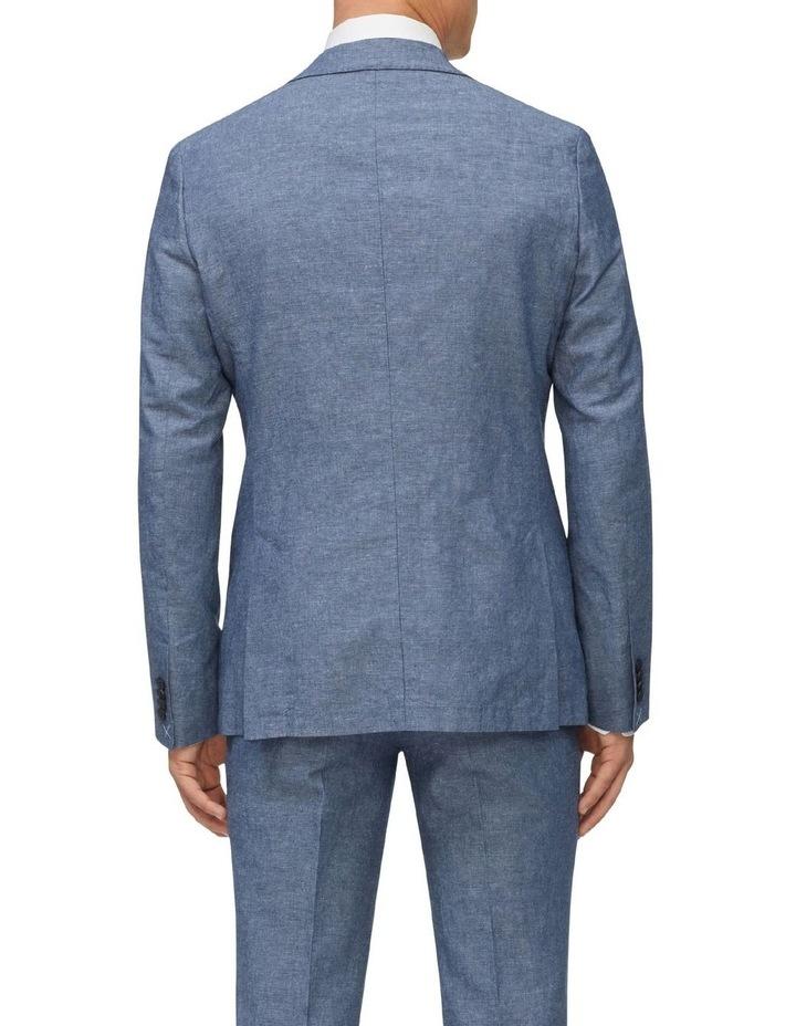 Linen Blend Slim Jacket image 3