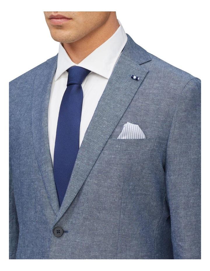 Linen Blend Slim Jacket image 4