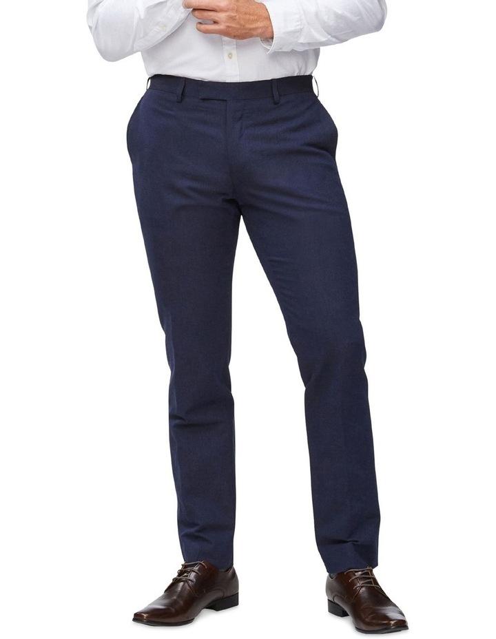 Linen Blend Suit Trouser image 1