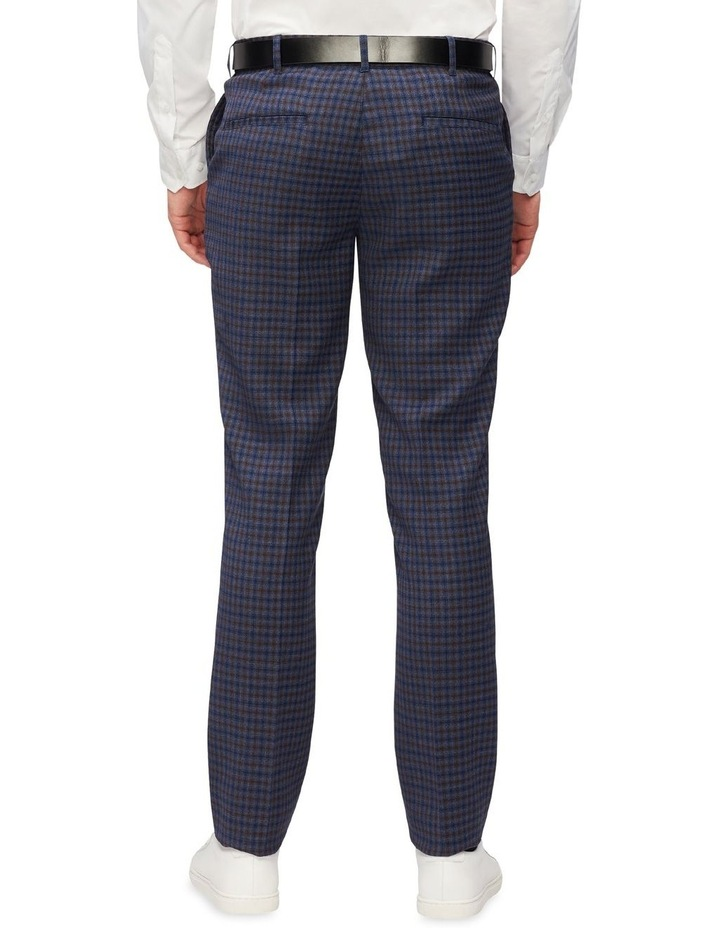 Gingham Check Slim Suit Pant image 2