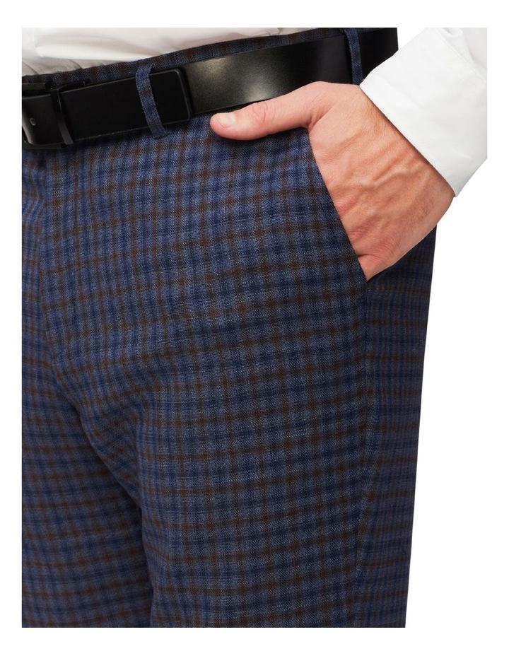 Gingham Check Slim Suit Pant image 3