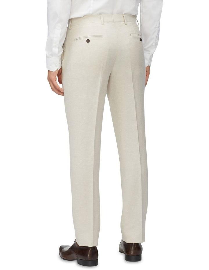 Linen Blend Slim Pant image 3