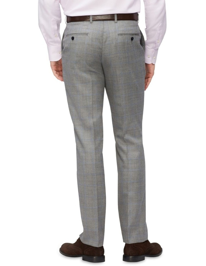 Tailored Wool Textured Window Pant Suit Pant Light Grey image 2