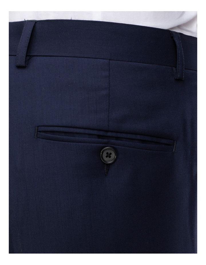X-Slim Plain Twill Wool Suit Trouser Navy image 4