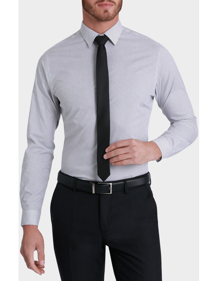Willow Square Print Business Shirt image 1
