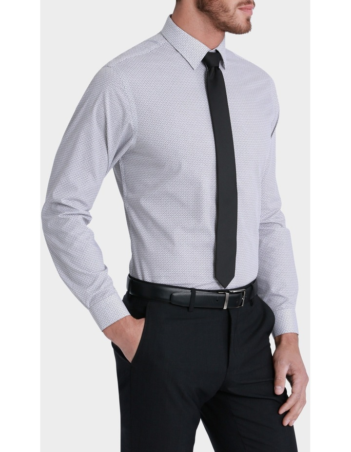 Willow Square Print Business Shirt image 2