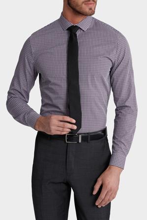 Blaq Slim - Jasper Slim Fit Check Shirt