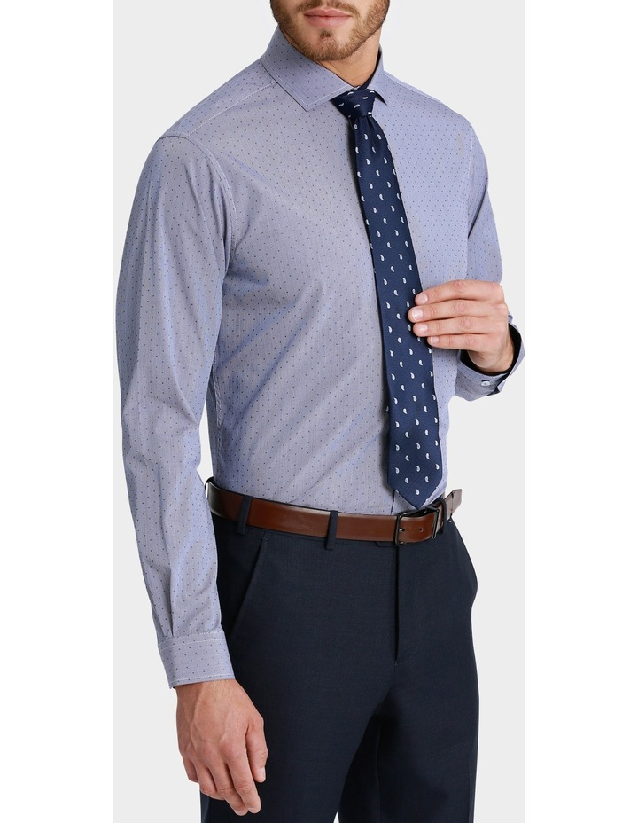 George Check with Dobby Spot Print Business Shirt image 2