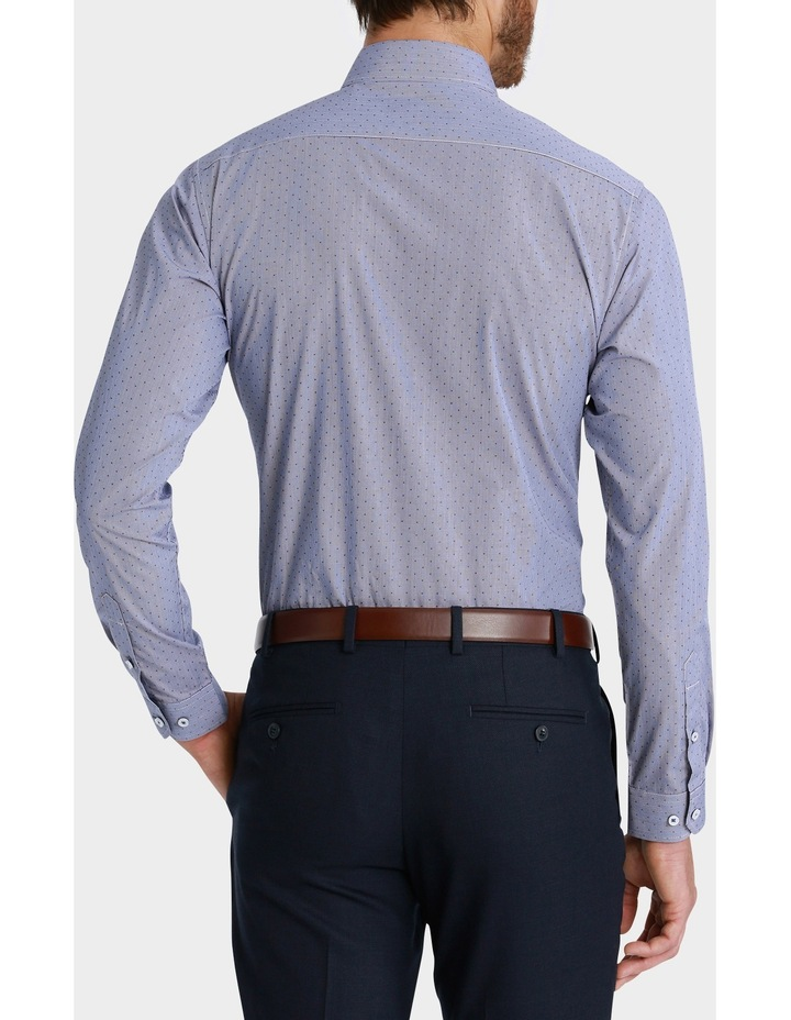 George Check with Dobby Spot Print Business Shirt image 3