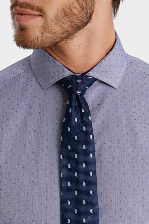 Blaq - George Check with Dobby Spot Print Business Shirt