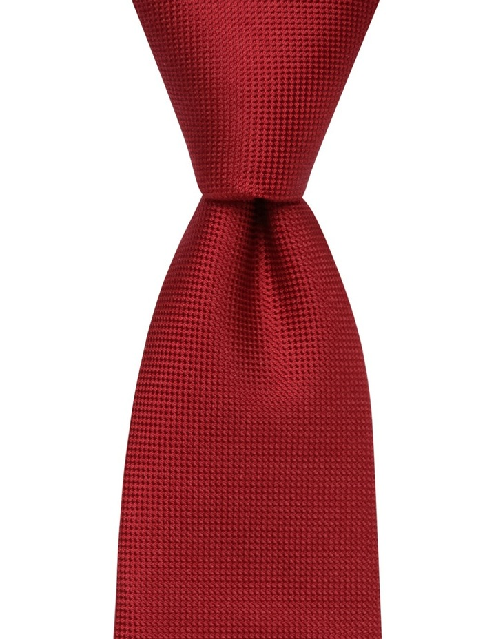 Core Silk Tie Red BLSTS18901 image 1