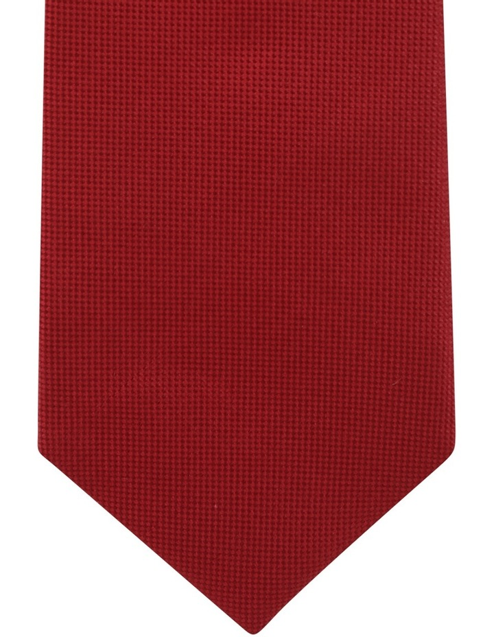 Core Silk Tie Red BLSTS18901 image 2