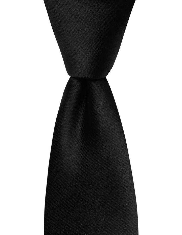 Core Poly Tie Black Blpts18801 image 1