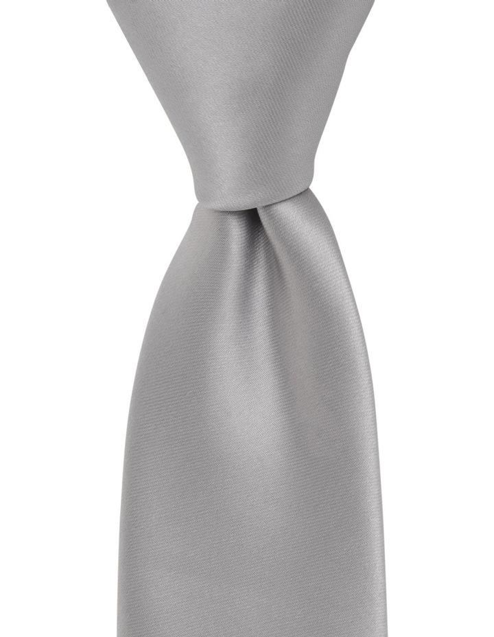 Core Poly Tie Silver BLPTS18801 image 1