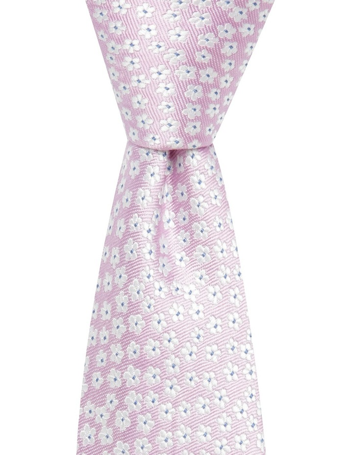 Daisy Floral Tie Lilac BLSTS18203 image 1