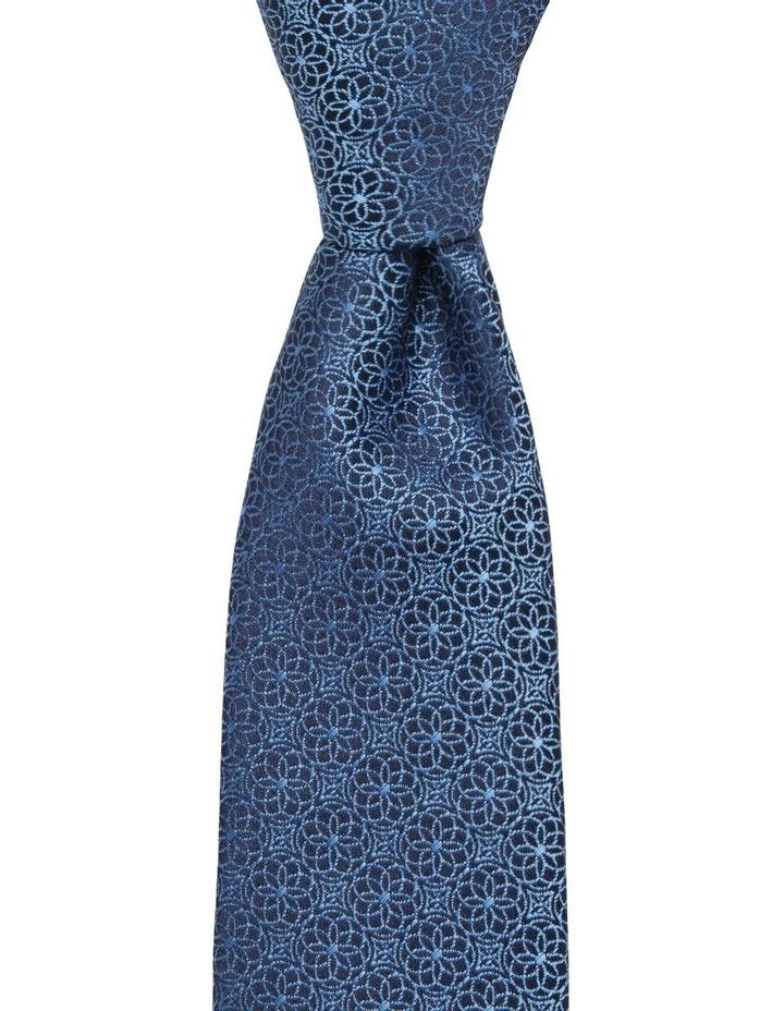Geo Floral Tie Royal Blue Blpts18107 image 1