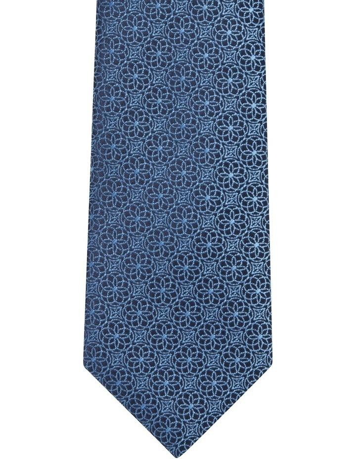 Geo Floral Tie Royal Blue Blpts18107 image 2