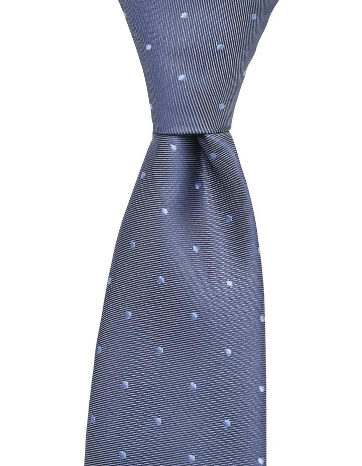 Plain Dot Tie Blue BLPTS18305 image 1