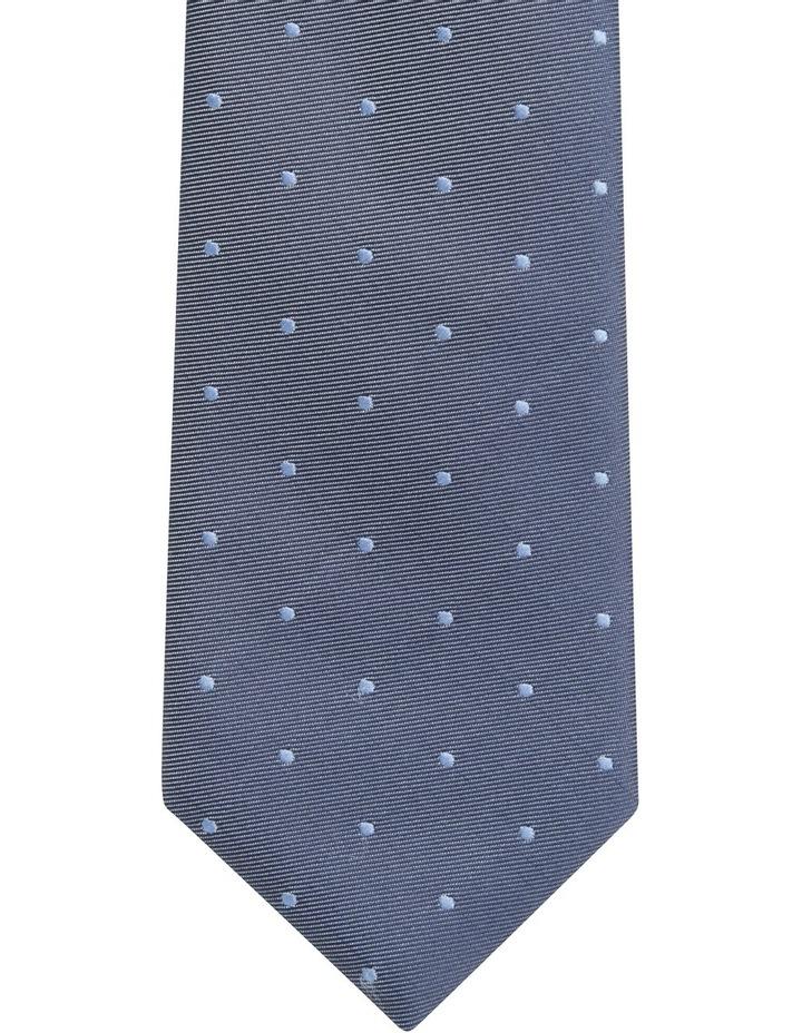 Plain Dot Tie Blue BLPTS18305 image 2