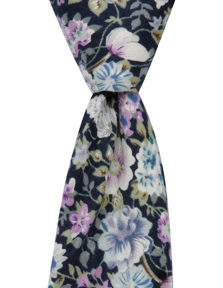 Painted Floral Tie Purple BLPTS18202 image 1