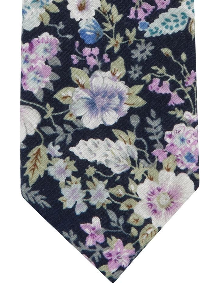 Painted Floral Tie Purple BLPTS18202 image 2