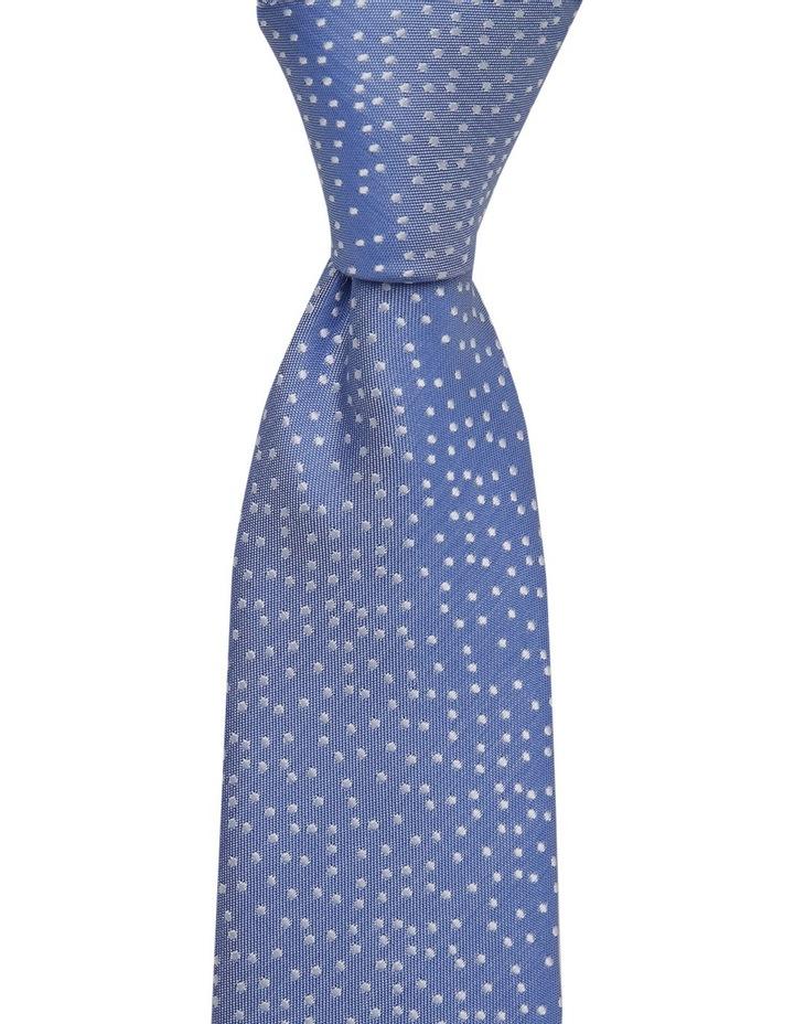 Blue Random Dot Tie Royal image 1