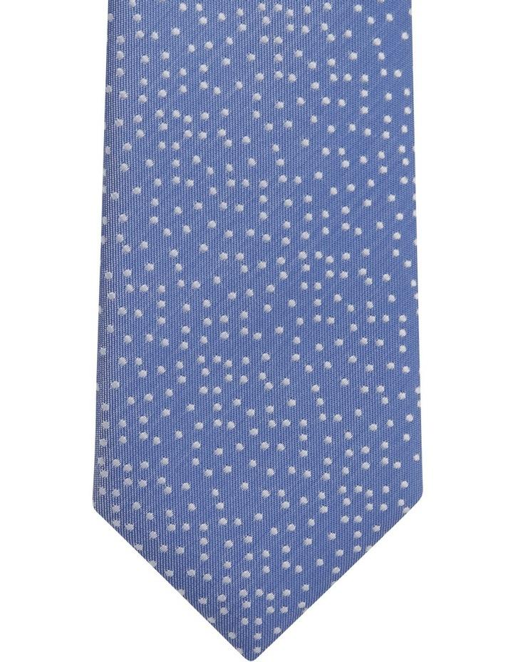 Blue Random Dot Tie Royal image 3