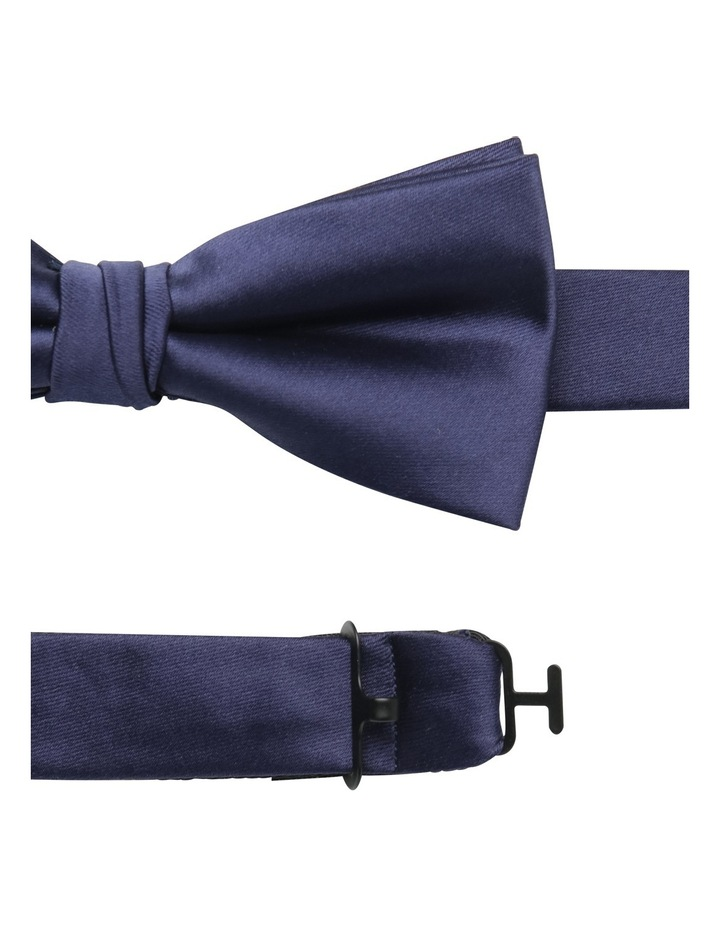 Solid Bow Tie Navy image 2