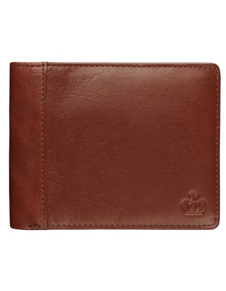 Leather Wallet with Zip Compartment image 1