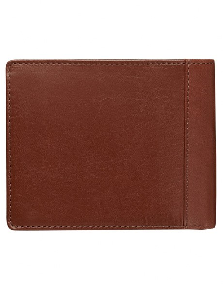 Leather Wallet with Zip Compartment image 2