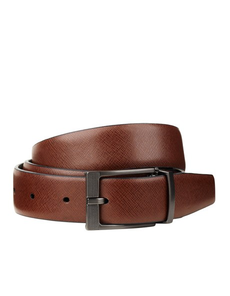 9cda6d0880d3 Jeff Banks Reversible Black Tan Belt