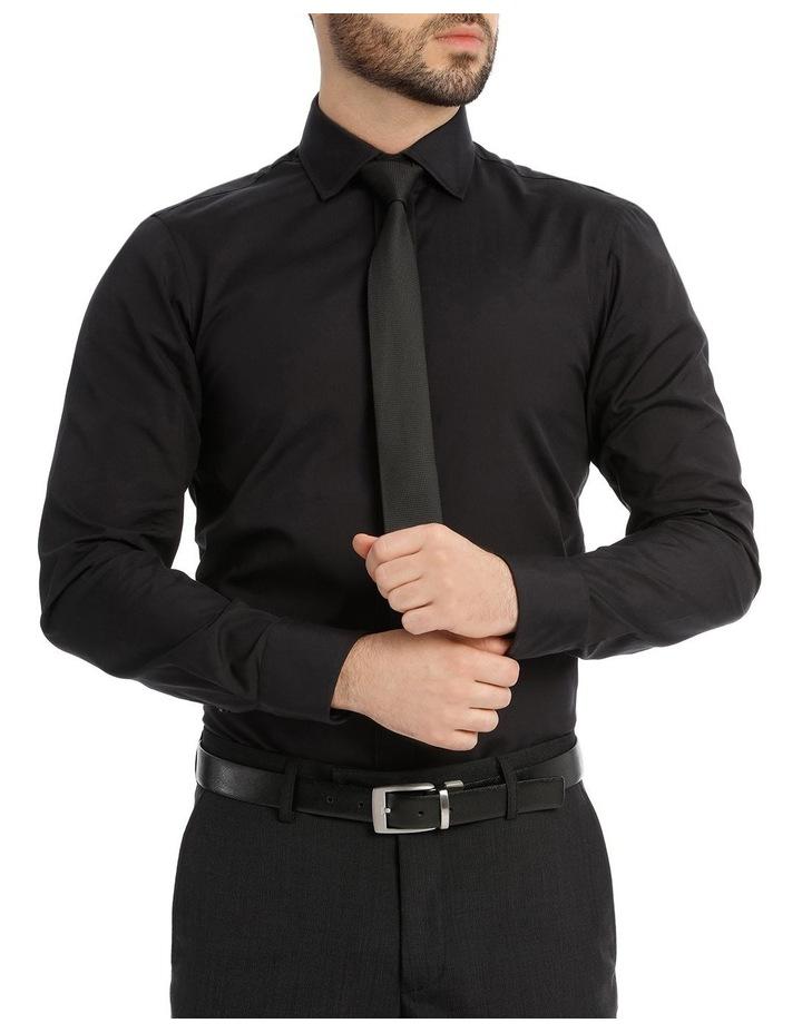 Black Poplin Shirt image 1