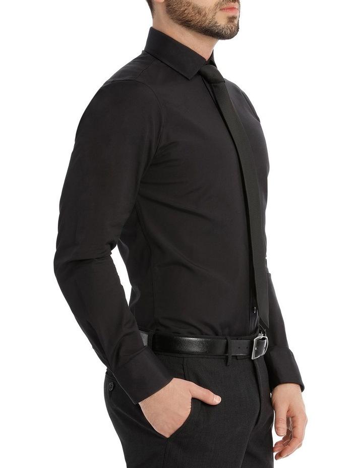 Black Poplin Shirt image 2