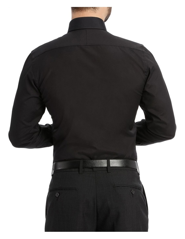 Black Poplin Shirt image 3