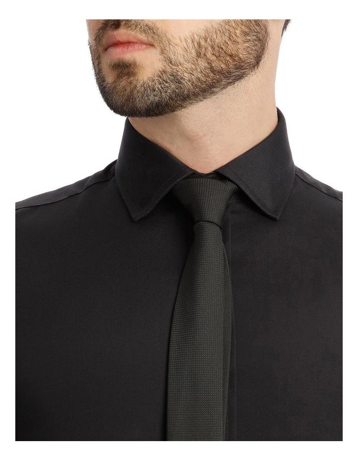 Black Poplin Shirt image 4