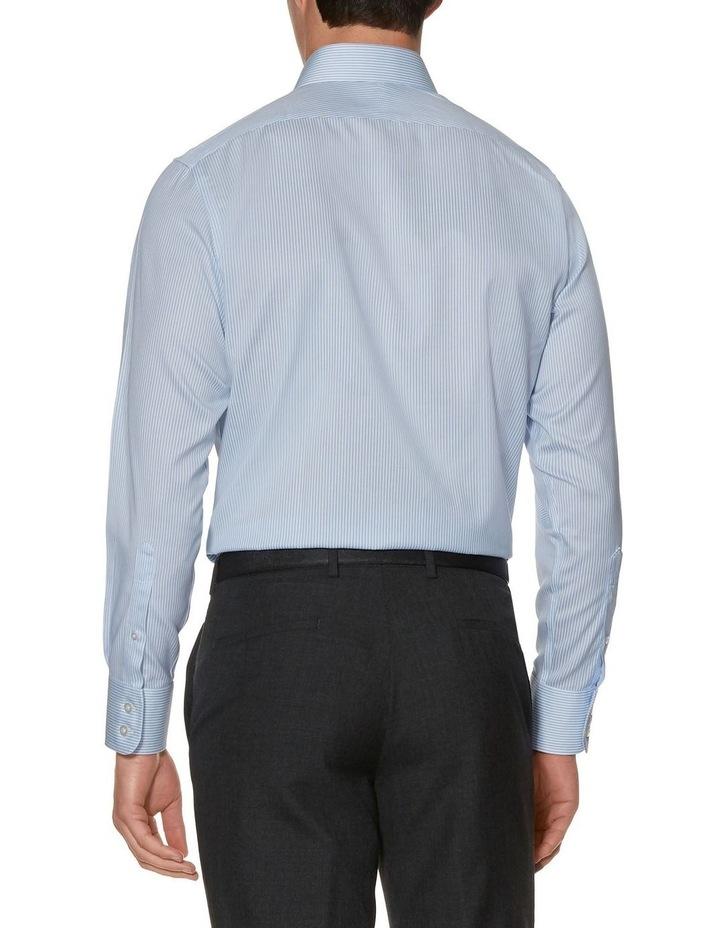 Non-Iron Blue Bengal Stripe Slim Fit Shirt image 2