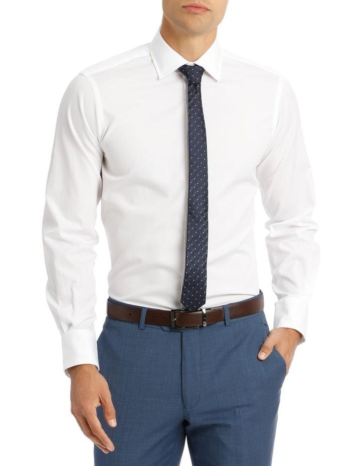 White Poplin Shirt image 1