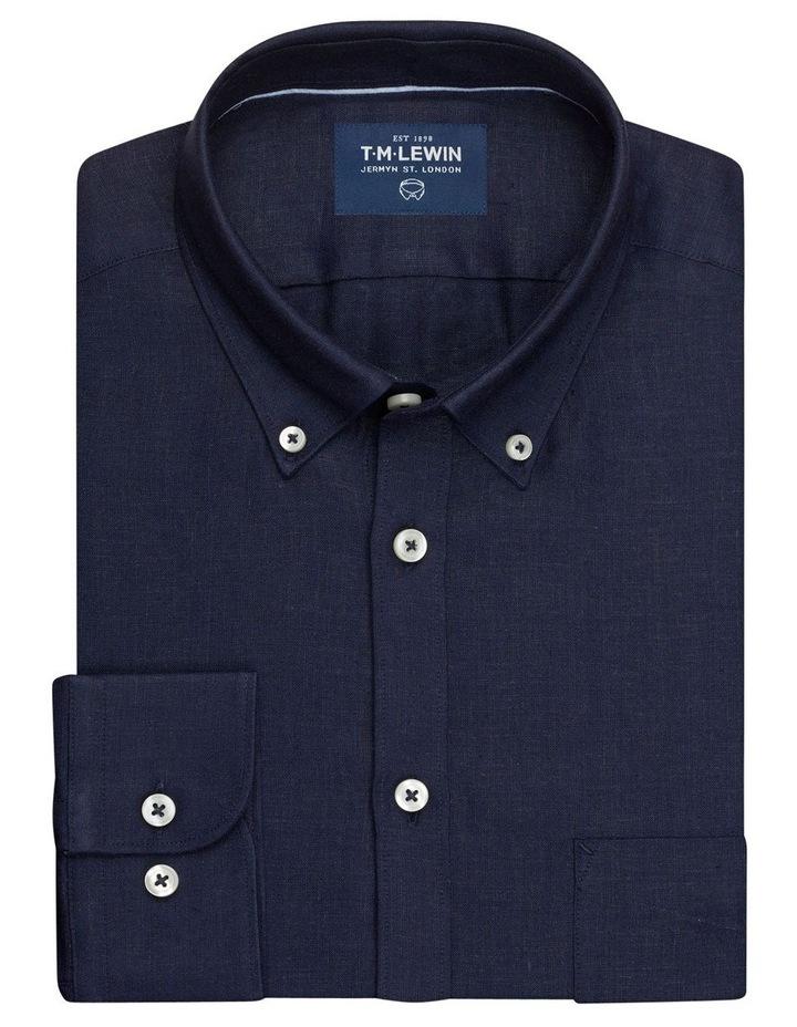 Premium Regular Fit Dark Navy Shirt image 1
