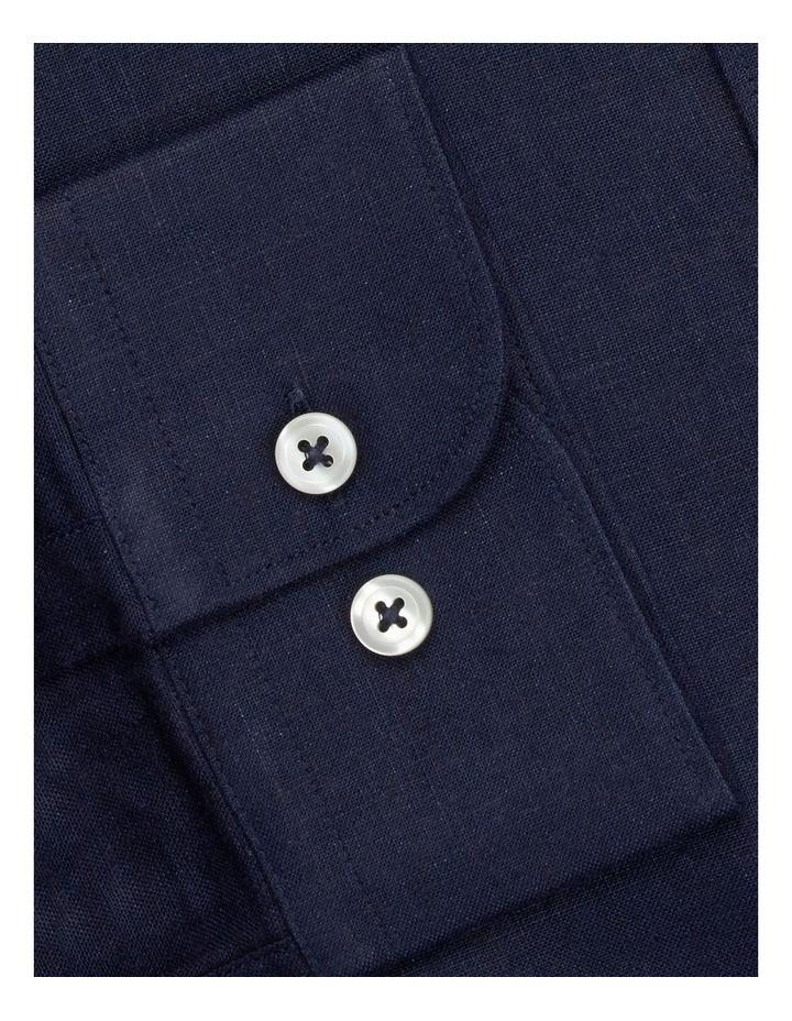 Premium Regular Fit Dark Navy Shirt image 3