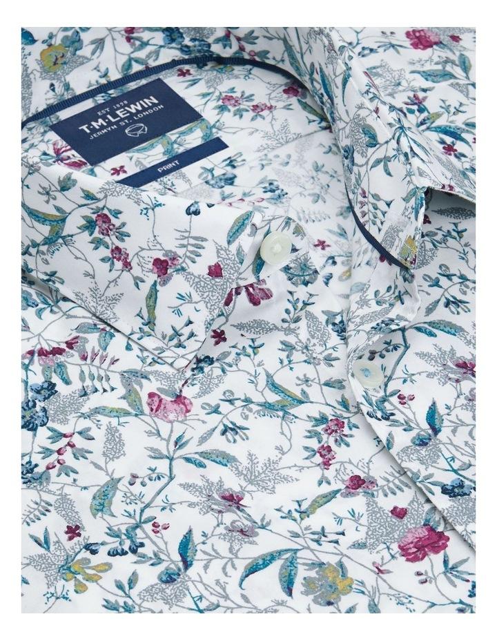 Raspberry Highlight Floral Print Shirt image 2
