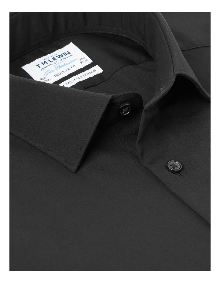 Single Cuff Regular Plain Stay Shirt image 2