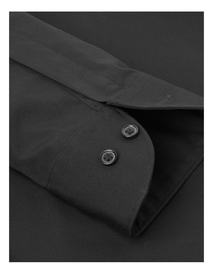 Single Cuff Regular Plain Stay Shirt image 3
