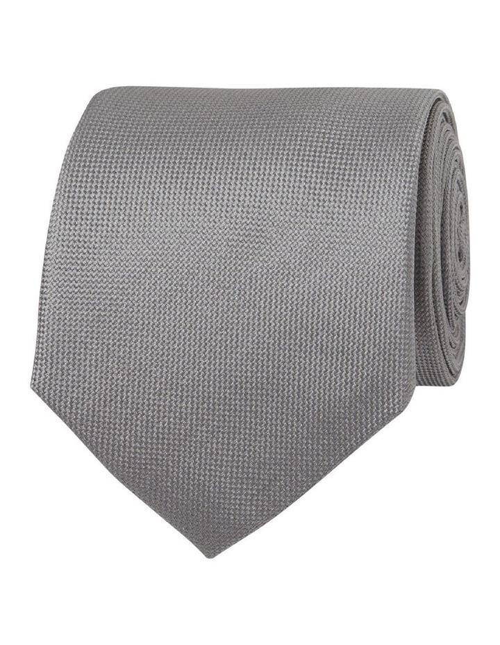 Grey Panama Silk Tie image 1