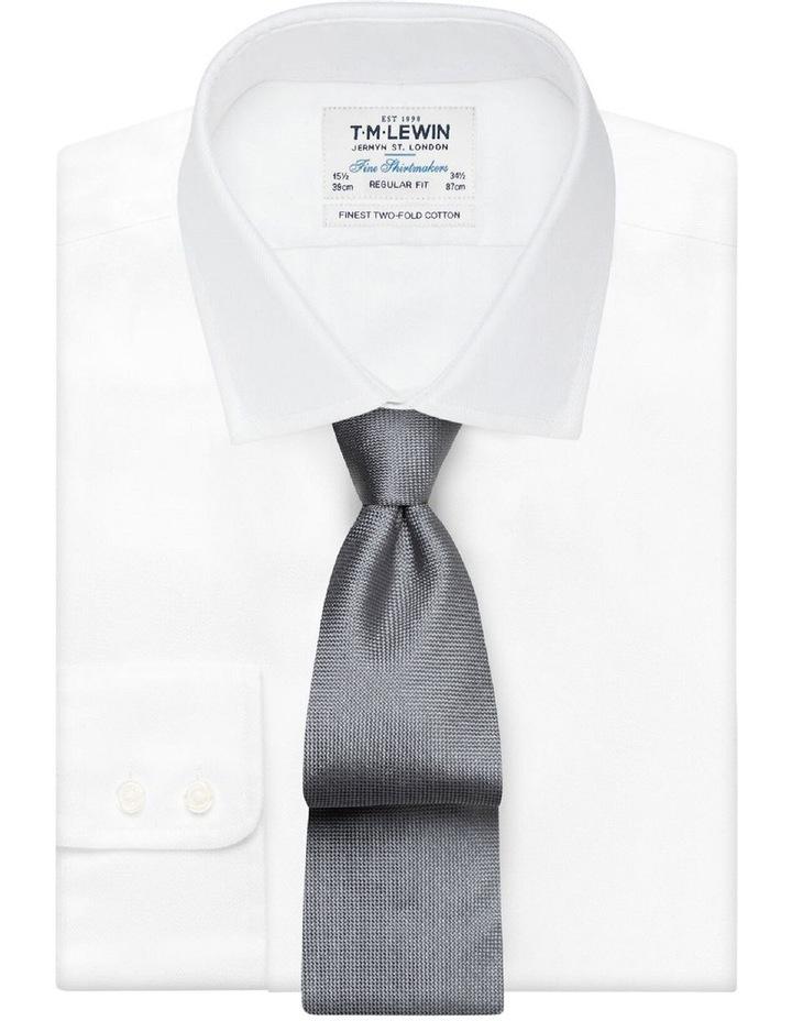 Grey Panama Silk Tie image 2