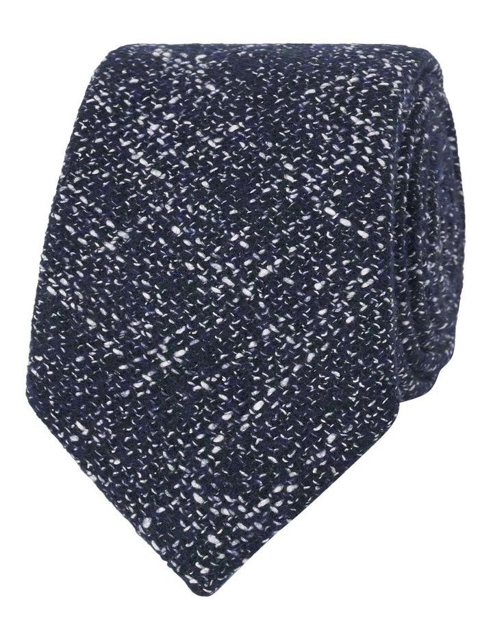 Barberis Navy Flecked Slim Tie image 1